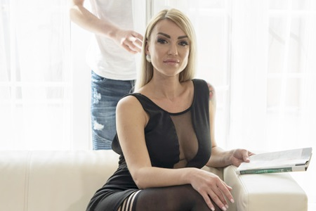Russian mommy loves to be fucked by a young guy.